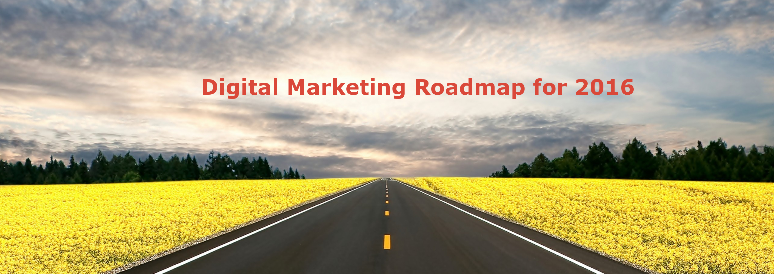 Digital Marketing Roadmap & SEO Strategies 2016